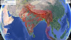 *we specifically create maps that have a magnitude of 6 or more on the richter scale. India Earthquake Faults Maps Knowledge Base Preventionweb Net