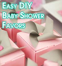homemade baby shower favors ideas