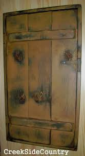 how to hide your fuse box diy great idea colors primitive wood circuit breaker fuse box cover by creeksidecountry 99 95