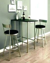 small modern kitchen table high top