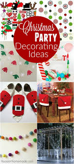 Christmas Booth Ideas Christmas Party Decorating Ideas Hoosier Homemade
