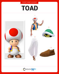 items you ll need toad costume