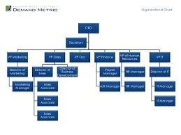 Business Organizational Chart Cool Organizational Chart Template