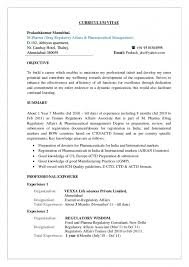 Personal Dossier In Resume