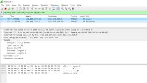 fun virtualization page of various virtualization wireshark capture of tacacs traffic