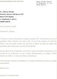 Carta De Presentacion Modelo Cartas Modelo Barca Fontanacountryinn Com