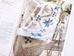 Easy Quilts Magazine - Blueberry Swirl Quilt and Josephine Quilt ... & Sitting pretty on page 92 was Kimberly's darling Josephine quilt! Yep, more  blue, but with a healthy dose of light gray! These floating stars and sweet  ... Adamdwight.com