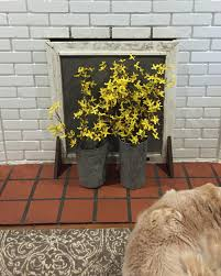 diy fireplace screen from a repurposed window screen thediybungalow com