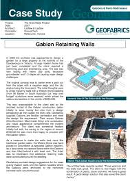 Small Picture Gabion Retaining Walls Groundtechgeo PDF Catalogues