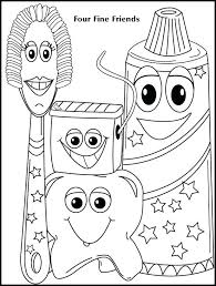 dental coloring pages printable best tooth fairy national day images page real attachment