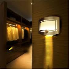 wireless lighting fixtures. night light 10leds wireless infrared pir motion sensor led lights wall sconce battery powered porch lamp for emergency lighting fixtures