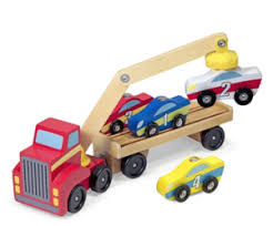 Toys for 2 Year Old Boys Melissa \u0026 Doug Magnetic Car Loader Wooden Toy Set With Best - [20 Great toys your toddler boy will