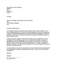 Brilliant Ideas Of Cover Letter Template For Writing Letters A Job