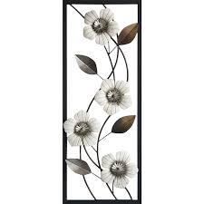 36 x14 white metal fl framed wall