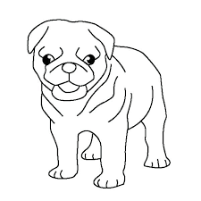 doug the pug coloring pages free coloring pages pug coloring pages pug puppy coloring page cute