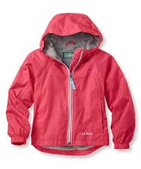 This Ruby Coral Lined Discovery Rain Jacket Kids Is