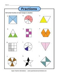 A Fraction Worksheet Super Teacher Worksheets Pinterest ...