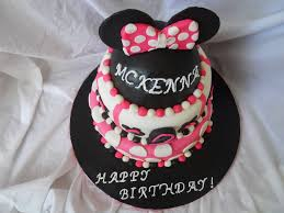 Ideas Minnie Mouse Birthday Cakes Classic Style How To Make