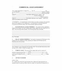 Commercial Lease Agreement Sample Beauteous Lease Basic Rental Agreement Apartment Lease Template Printable