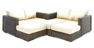 small outdoor sectional couch l shaped outdoor couch wicker sectionals outdoor furniture wicker sectional small l