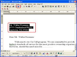 How Do I Create An Address Label Using Microsoft Word Add In And