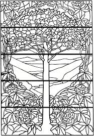 Tiffany Animal Coloring Pages Tiffany Designs Stained Glass Coloring