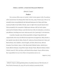 fidel castro a machiavellian prince pdf available