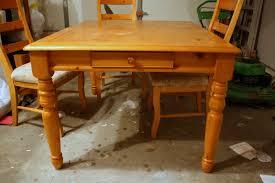Refinishing A Dining Room Table Nqendercom