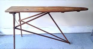 wood ironing board wood ironing board plans