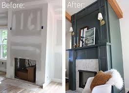 wondrous ideas build a fireplace surround home decor faux and mantel for electric kit corner
