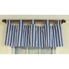 tab top valance. Delighful Tab Shop U0027Iciclesu0027 Blue Tabtop Window Valance  Free Shipping Today  Overstockcom 9609586 For Tab Top B