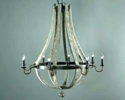 distressed white wood chandelier chandeliers
