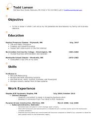 Sample Resume For Entry Level Retail Position Best Resume For