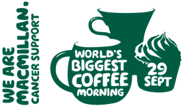 Image result for macmillan coffee morning poster 2017