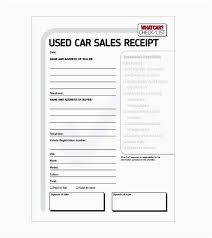 Vehicle Sales Agreement Unique Car Sales Receipt Free Private Car Sale Receipt Template Free Valid