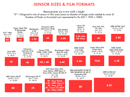 Red Camera Resolution Chart A Filmmakers Guide To Sensor Sizes And Formats Sharegrid Blog