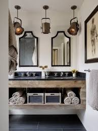 Attractive Rustic Modern Bathroom Vanity Throughout Bath Foter
