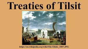 Image result for peace of tilsit