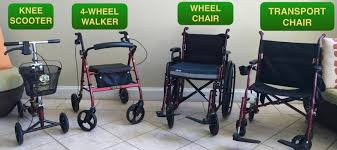 walkers and wheelchair als