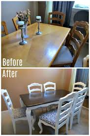 DIY Dining Table Makeover  Free Tutorial