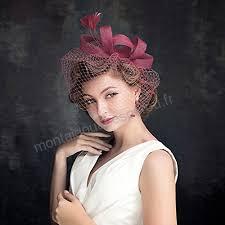 Coiffure Bibi Voile Plume Voilette Fascinants Chapeaux De