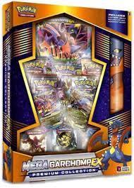 Pokemon Mega Garchomp-EX Premium Collection- Buy Online in Sweden at  Desertcart - 35809101.