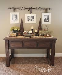 Awesome Christmas Decorating Sofa Table Ideas Of Including For Pictures