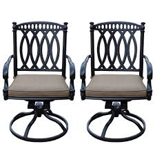 morocco aluminum outdoor rocking chair with sunbrella beige cushions 2 pack