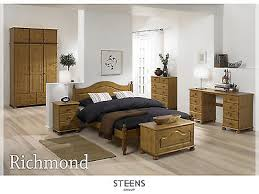 RICHMOND WHITE BEDROOM Furniture Wardrobes & Chest of Drawers ...