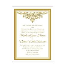Wedding Invitation Downloads Blue And Gold Invitation Template Major Magdalene Project Org