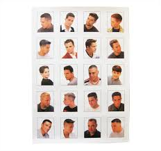 Barbershop Hairstyle Chart Black Barber Hairstyle Guide Poster Hairstyles By Unixcode