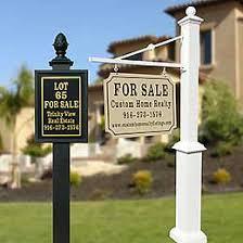 Decorative Sign Posts Product Portfolio Decorative Luxury Real Estate Realtor Sign 26