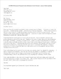Letter To Business Template Free Sample Business Proposal Letter Templates At