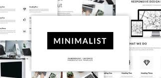 Powerpoint Theme Templates Free 17 Minimalist Powerpoint Designs Templates Psd Ai